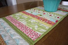 """FREE project: """"Runner Tutorial"""" by Amy Smart (from Diary of a Quilter)"""