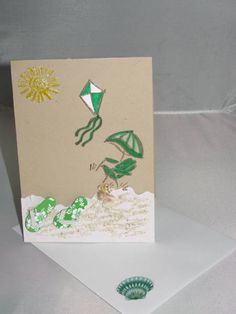 Beach/ Sea theme, gift set by RaeT - Cards and Paper Crafts at Splitcoaststampers