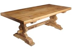 Treillage Trestle Table Belgium #oak