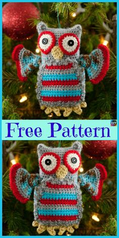 Everyone loves owls, and they are one of our favorite animals! So why not learn how to make a adorable Crochet Amigurumi Owl for your child ? Crochet Owl Basket, Crochet Owls, Crochet Unicorn, Crochet Art, Cute Crochet, Crochet Crafts, Crochet Projects, Crochet Animals, Owl Crochet Pattern Free