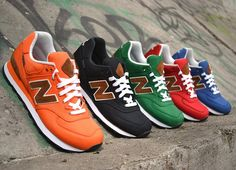 New Balance 2012 Fall M574 Backpack Collection / Follow My SNEAKERS Board!