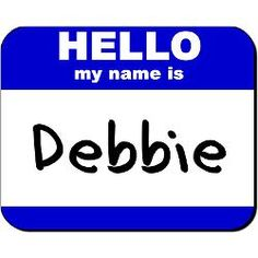 the name debbie images - Google Search