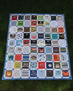 c2007f3ec57edcee1caef9201de27cff lap quilts quilt baby hese quilts from your own children's clothing; just keep a big box,Childrens Clothing Quilt