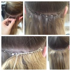 Stress-free hair extensions.