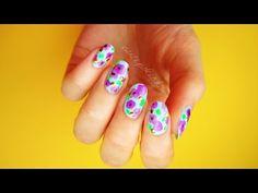 Purple Flowers No Tools!