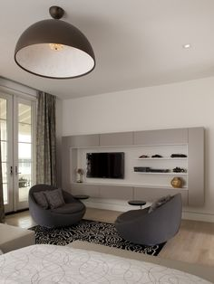 Modern Bedroom Design, Pictures, Remodel, Decor and Ideas - page 2. Those chairs are so neat