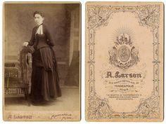 A. Larson cabinet card, Minneapolis, Minnesota, c1890s | Flickr - Photo Sharing!