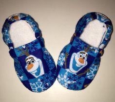 Buy Now Kiddo Kicks // Baby Booties in Disneys Frozen...