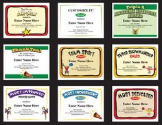 Cheerleading certificate templates a lasting keepsake with just a cheerleading certificates and cheerleader award templates 25 certificates in all yelopaper Gallery