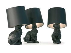 PVC table #lamp RABBIT LAMP by @moooi © | #design FRONT