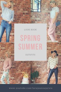 Spring Outfits | 7 Outfits in 7 Days, Spring Outfits | Outfits of the Week.  I thought I would film a look book of my Spring outfits of the week because I am loving all the Spring clothes on the high street at the moment and I have updated my wardrobe with some beautiful new pieces.