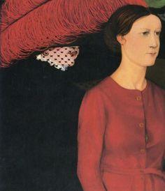 Les deux printemps by  Gustave van de Woestyne (Belgian 1881-1947)