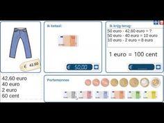 Rekenen met geld - Geld teruggeven - groep 6/7 - YouTube Youtube, Money, Youtubers, Youtube Movies