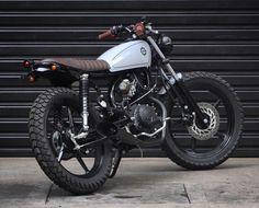 """Motohead - Yamaha 125cc 0km."" @benditamacchina"