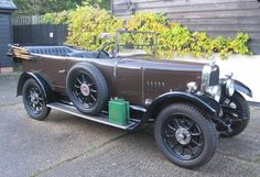 1924 Alvis  12/50hp SB Deluxe Tourer  Coachwork by Cross & Ellis.   Chassis no. 2902 & 5333  Engine no. 3747