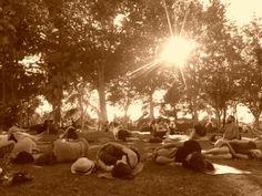 yoga templo de debod