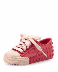 Mini Polibolha II Jelly Sneaker, Pink by Melissa Shoes at Bergdorf Goodman.