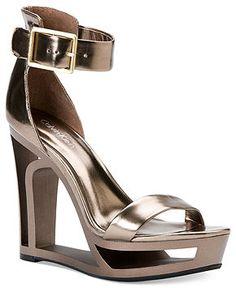 Calvin Klein Women's Shoes, Yasu Platform Sandals - All Women's Shoes - Shoes - Macy's