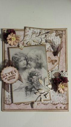 Et vintagekort ..