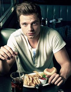 Imagine going on a casual date with Sebastian