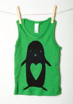 happy penguin, maar dan zonder hartje