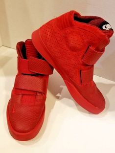 5eca55731f8 NIKE Flystepper 2K3 Mens Hi Top Trainers 644576 Sneakers Shoes Team Red on  Red  Nike