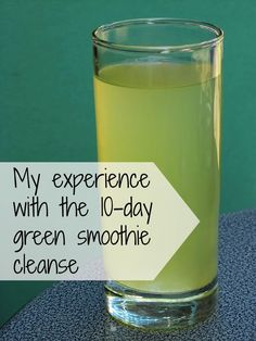 My experiences with the 10-day green smoothie cleanse: how the first half of the green smoothie cleanse went for me.