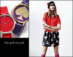 kate spade new york Watches: For the color-conscious girl about town who loves whimsical, retro motifs and a jubilant palette. #nordstrom