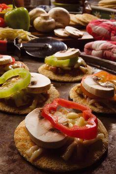 CASABE GOURMET®  Mini Pizzas