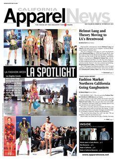 LA Fashion Week puts LA in the spotlight. (http://www.apparelnews.net) & (http://www.apparelnews.net/news/2013/oct/10/los-angles-fashion-week-spring-14/) #LA + #DTLA #Spotilight #LAFW #ApparelNews