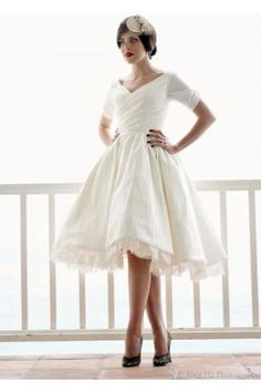 vintage inspired wedding dresses by Dolly Couture inspired-mad-men-wedding