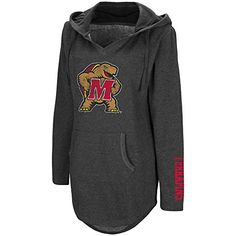 Tune into gameday style with this women's Maryland Terrapins hooded tunic from Campus Heritage. Crew Neck, V Neck, Maryland, Hoods, Tunic, Sweatshirts, Sweaters, Clothes, Style