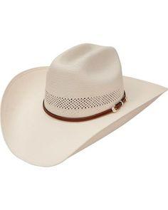 b5277fcf3ac37 Stetson Rincon Vented Straw Cowboy Hat