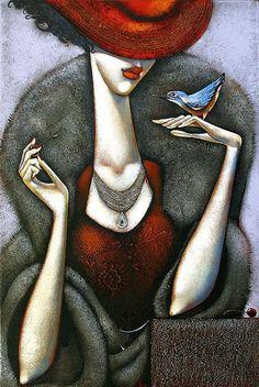 Ira Tsantekidou 1967 | Greek Art Déco painter