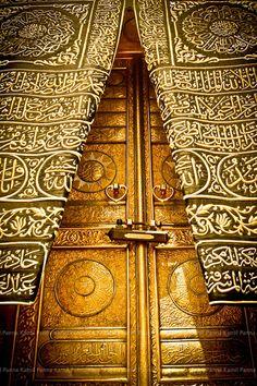 Makkah- Ka'aba- door