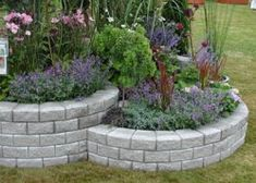 Diy Crazy Garden Ideas To Upgrade Your Backyard For The Summer 1 (Diy Garden Stones) Garden Retaining Wall, Retaining Walls, Diy Garden Decor, Front Yard Landscaping, Dream Garden, Garden Projects, Garden Inspiration, Outdoor Gardens, Decoration