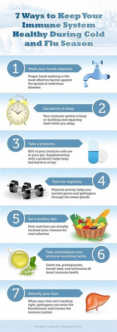 Keep your immune system healthy