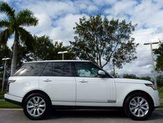 2013 Land Rover Range Rover, Fuji White #landroverpalmbeach #landrover #rangerover http://www.landroverpalmbeach.com/