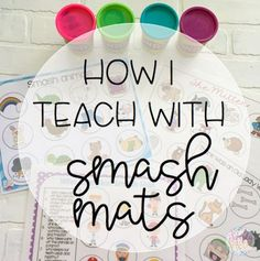 How I Teach With Smash Mats!