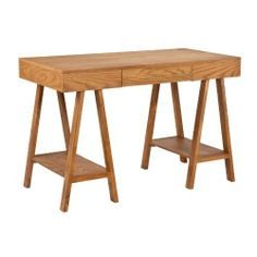 SEI Dante Desk, Oak by SEI. Save 35 Off!. $193.55. 47.25 by 23.5 by 31-Inch; rear: 16.5 by 15.5 by 2.5-Inch. Shelves: 11-Inch w x 22.25-Inch d x 18-Inch h; space beneath shelves: 7-Inch h; foot space beneath desk: 19.25-Inch w x 22.5-Inch d. Features 1 drawer and 2 shelves. Oak finish; constructed of mdf, oak veneer and pine; assembly required. Max weight capacity: 60-Pound (desk top), 10-Pound (each shelf). Enrich your work space with this dante desk in a beautiful oak finish. a...