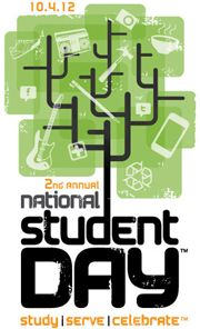 Sponsored by the National Association of College Stores, National Student Day encourages college stores across the U.S. and Canada to celebrate social responsibility.