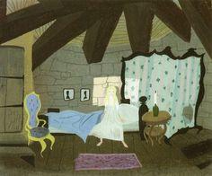 Cinderella art by Mary Blair