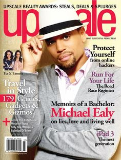 Michael Ealy cover Upscale magazine. Absolutely Beautiful