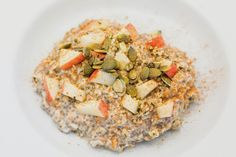 Overnight 4 Grain Chia Porridge