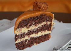 SÜTIK BIRODALMA: Karamelltorta Salty Snacks, Food And Drink, Sweets, Cookies, Cake, Recipes, Caramel, Crack Crackers, Savory Snacks