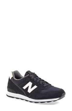 New Balance 696 Sneaker (Women): The classic in lush suede. #Shoes #Sneaker