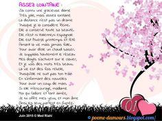 Assez lointain French Love Poems, Geek Stuff, Positivity, Words, Images, Batiste, Attitude, Art, Forever Love