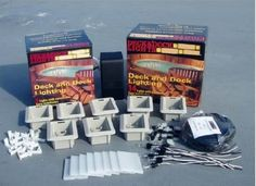 Deck and Dock Light Kit Dock Lighting, Outdoor Lighting, Low Voltage Transformer, Do It Yourself Kit, Boat Dock, Landscape Lighting, Lighting Solutions, Night Time, Are You Happy
