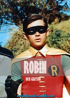 ROBIN (DICK GRAYSON)  Played By: Burt Ward Film: Batman: The Movie Year: 1966