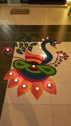 Best small rangoli designs our top 10 diwali happy for Indoor diwali decoration